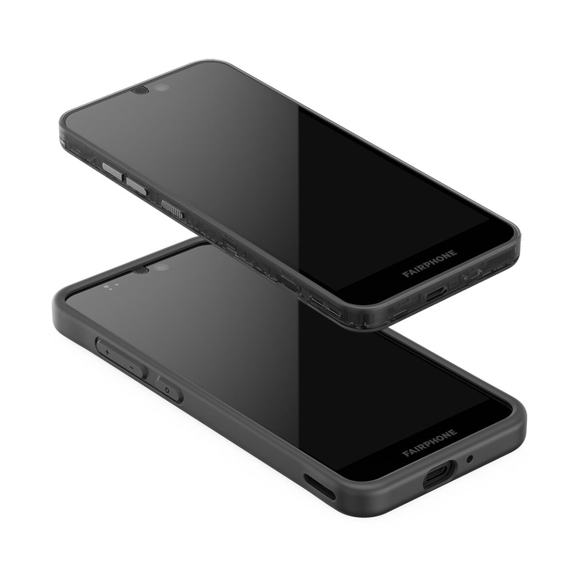 Fairphone 3 with Bumper On/Off